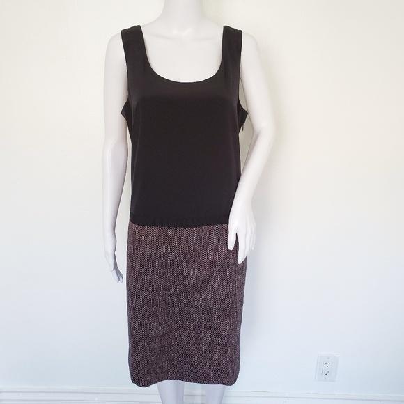 Dkny Dresses & Skirts - DKNY Silk Blend Tweeted Sleeveless Dress 14